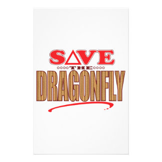 Dragonfly Save Stationery