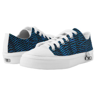 Dragonfly shiny vibrant blue wings low tops