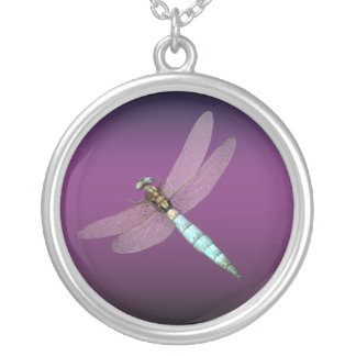 Dragonfly Silver Plated Necklace