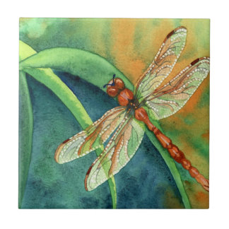 Dragonfly Small Square Tile