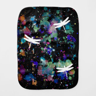 Dragonfly+Space Burp Cloth