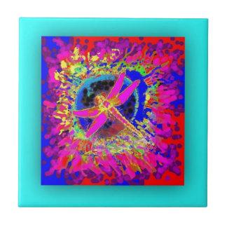 Dragonfly Splash by Sharles Tile