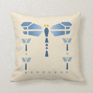 Dragonfly Stencil Cushion