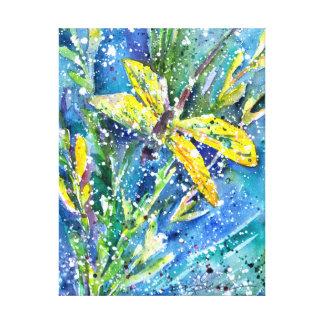 Dragonfly Summer Canvas Print