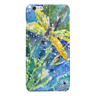 Dragonfly Summer watercolor phone case iPhone 6 Plus Case