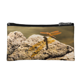 Dragonfly Sun Bathing Cosmetic Bags