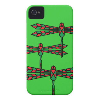 Dragonfly swarm iphone case