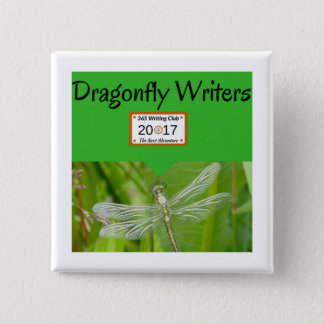 Dragonfly Team pins! 15 Cm Square Badge