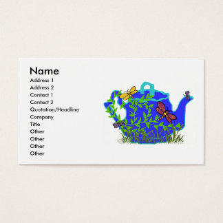 Dragonfly Teapot business cards