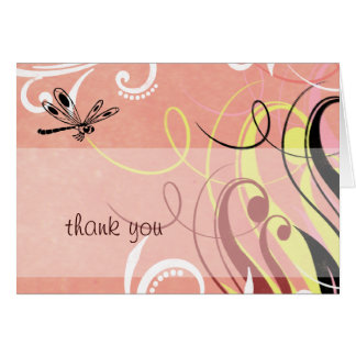 Dragonfly Thank You Card