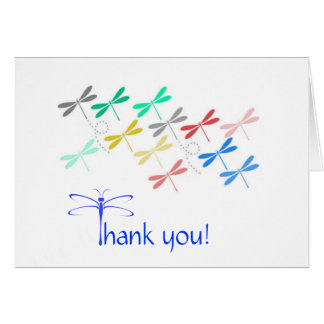 Dragonfly Thank You Notes