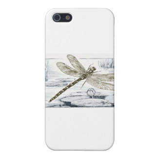 dragonfly theme case for the iPhone 5