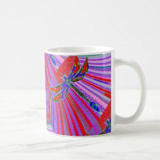 Dragonfly Time Stream Basic White Mug