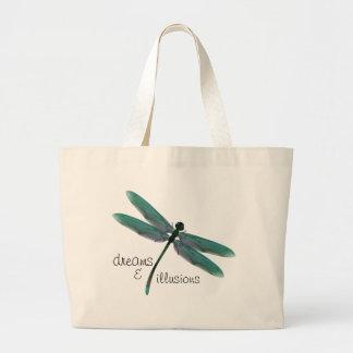 Dragonfly Jumbo Tote Bag