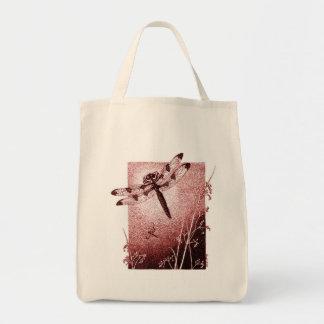 Dragonfly Tote Bag (Brown)
