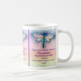 """Dragonfly """"Transformation"""" Mug"""