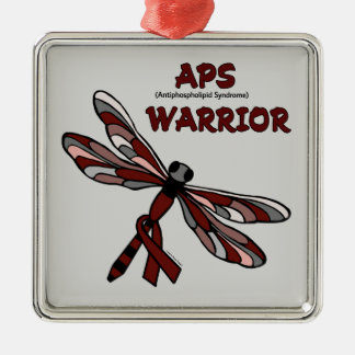 Dragonfly/Warrior...APS Christmas Ornament