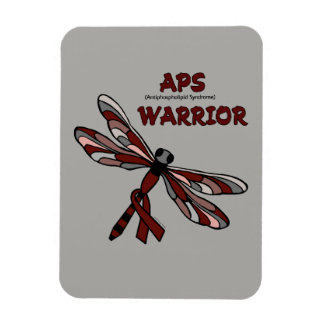 Dragonfly/Warrior...APS Rectangular Photo Magnet