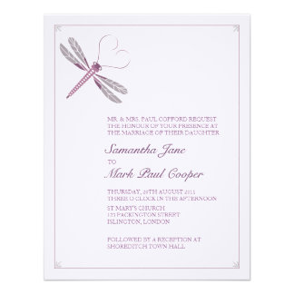 Dragonfly Wedding Invitations