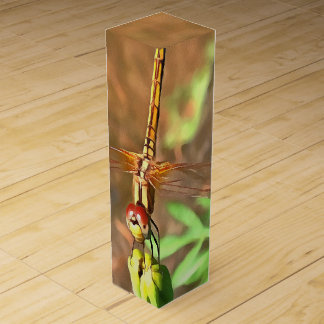 Dragonfly Wine Bottle Boxes