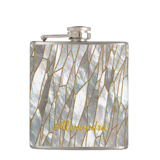 Dragonfly Wing Hip Flask
