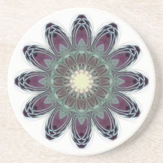 Dragonfly Wings Mandala Coaster