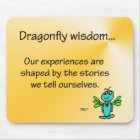 Dragonfly Wisdom and Stories Mouse Mat