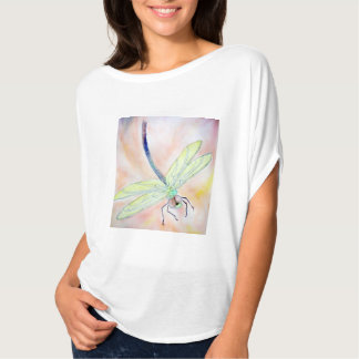 Dragonfly Women's Flowy Circle Shirt