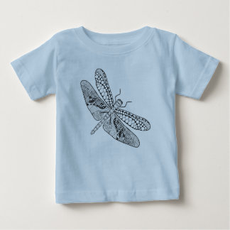 Dragonfly Zendoodle Baby T-Shirt