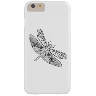 Dragonfly Zendoodle Barely There iPhone 6 Plus Case