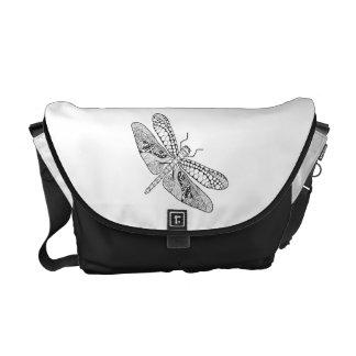 Dragonfly Zendoodle Commuter Bag