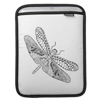 Dragonfly Zendoodle iPad Sleeve