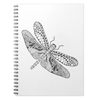 Dragonfly Zendoodle Notebooks