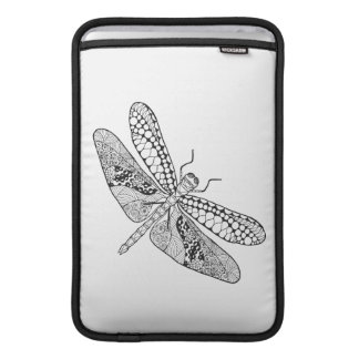 Dragonfly Zendoodle Sleeve For MacBook Air
