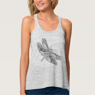 Dragonfly Zendoodle Tank Top