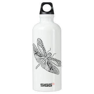 Dragonfly Zendoodle Water Bottle