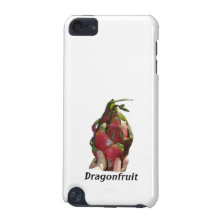 Dragonfruit held in fingers with text photo Pitaya iPod Touch 5G Case