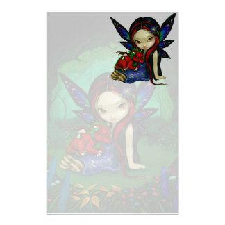"""""""Dragonling Garden I"""" Stationery"""