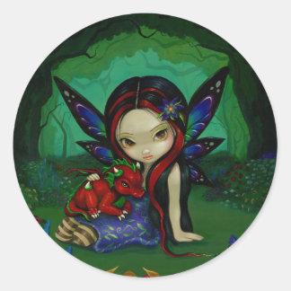 Dragonling Garden I Sticker