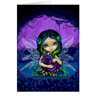 """Dragonling Garden II"" Greeting Card"