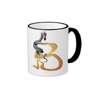 Dragonlore Initial B Coffee Mug
