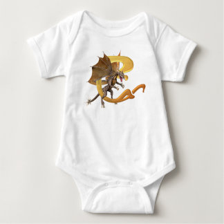 Dragonlore Initial C Baby Bodysuit