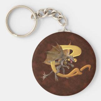 Dragonlore Initial C Keychain