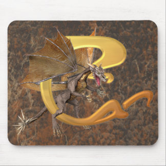 Dragonlore Initial C Mouse Pad