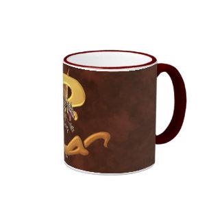 Dragonlore Initial C Ringer Coffee Mug