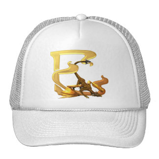 Dragonlore Initial E Mesh Hat