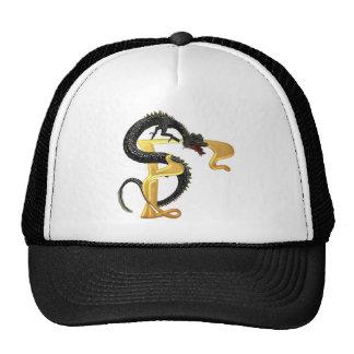 Dragonlore Initial F Trucker Hat