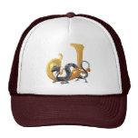 Dragonlore Initial J Mesh Hat