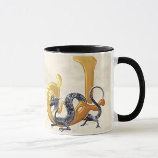 Dragonlore Initial J Mug