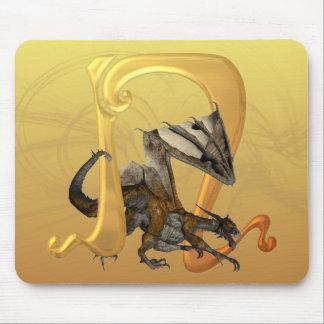 Dragonlore Initial N Mouse Mat